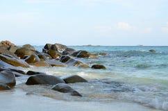 Φως στο βράχο Στοκ φωτογραφία με δικαίωμα ελεύθερης χρήσης