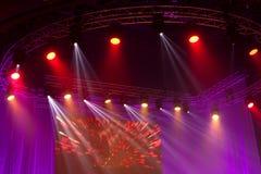 Φως στο θέατρο Στοκ Φωτογραφία