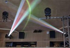 Φως στο θέατρο Στοκ φωτογραφία με δικαίωμα ελεύθερης χρήσης