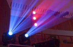 Φως στο θέατρο Στοκ Φωτογραφίες