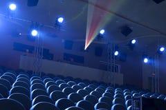 Φως στο θέατρο Στοκ φωτογραφίες με δικαίωμα ελεύθερης χρήσης