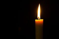 Φως στο κερί Στοκ Εικόνες