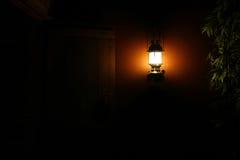 Φως στο σκοτάδι. Στοκ Εικόνες