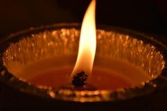Φως στο σκοτάδι Στοκ Φωτογραφίες