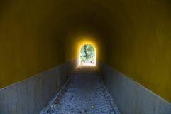Φως στο τέλος της σήραγγας Στοκ φωτογραφίες με δικαίωμα ελεύθερης χρήσης