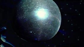 Φως σφαιρών Disco απόθεμα βίντεο