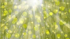 Φως του ήλιου σε ένα αφηρημένο υπόβαθρο Στοκ Εικόνες