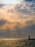 φως του ήλιου φάρων στοκ εικόνες