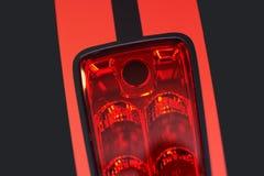 Φως φρένων μοτοσικλετών στοκ εικόνες