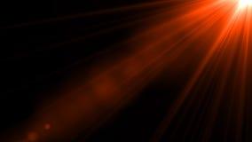 Φως φλογών φακών πέρα από το μαύρο υπόβαθρο Εύκολος να προσθέσει την επικάλυψη Στοκ εικόνες με δικαίωμα ελεύθερης χρήσης
