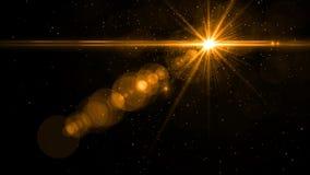 Φως φλογών φακών πέρα από το μαύρο υπόβαθρο Εύκολος να προσθέσει την επικάλυψη Στοκ Φωτογραφία