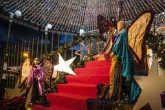 Φως Χριστουγέννων Στοκ Εικόνα