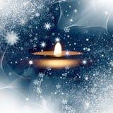 Φως Χριστουγέννων Στοκ φωτογραφίες με δικαίωμα ελεύθερης χρήσης