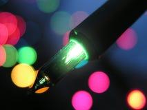 Φως Χριστουγέννων στοκ εικόνες