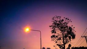 φως δύναμης Στοκ Φωτογραφίες