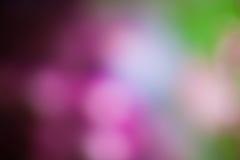 Φως Bokeh στο υπόβαθρο χρώματος κρητιδογραφιών Στοκ Φωτογραφία