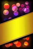 Φως Bokeh Στοκ εικόνα με δικαίωμα ελεύθερης χρήσης
