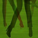 Φως footwork Στοκ φωτογραφία με δικαίωμα ελεύθερης χρήσης