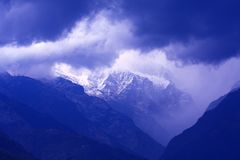 Φως Himalayan Στοκ φωτογραφίες με δικαίωμα ελεύθερης χρήσης