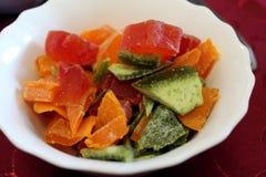 Φωτεινά γλασαρισμένα φρούτα στοκ φωτογραφία με δικαίωμα ελεύθερης χρήσης
