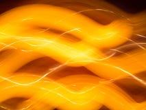 Φωτεινά κύματα, αφηρημένο υπόβαθρο, ατμόσφαιρα διακοπών Στοκ Εικόνες