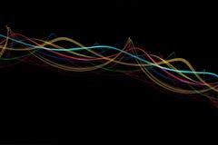 φωτεινά κύματα Στοκ Εικόνα