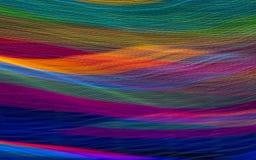 Φωτεινά κύματα Στοκ εικόνες με δικαίωμα ελεύθερης χρήσης