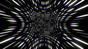 Φωτεινά λάμποντας σημεία, τρισδιάστατη απόδοση, παραγωγή υπολογιστών απόθεμα βίντεο