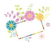 φωτεινά λουλούδια Στοκ Φωτογραφίες
