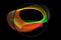 Φωτεινά λωρίδες για την αφίσα, ιστοχώρος, φυλλάδιο, τυπωμένη ύλη διανυσματική απεικόνιση
