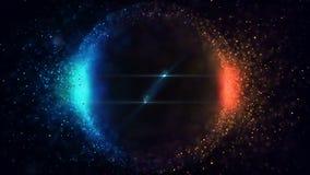 Φωτεινά μόρια σφαιρών φιλμ μικρού μήκους