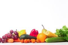 Φωτεινά νόστιμα φρέσκα τρόφιμα Στοκ εικόνα με δικαίωμα ελεύθερης χρήσης