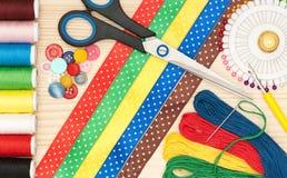 Φωτεινά ράβοντας εξαρτήματα Στοκ Εικόνες