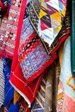 Μαροκινός και berber τάπητες Στοκ Εικόνες