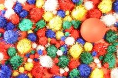 φωτεινά χρώματα χρώματος σφαιρών ανασκόπησης Στοκ εικόνα με δικαίωμα ελεύθερης χρήσης