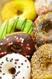 Φωτεινά doughnuts Στοκ εικόνες με δικαίωμα ελεύθερης χρήσης