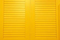 φωτεινά louvers κίτρινα Στοκ φωτογραφία με δικαίωμα ελεύθερης χρήσης