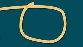 Φωτεινές δυναμικές μορφές - ο σταυρός, κύκλος, ωοειδής στο ύφος κινούμενων σχεδίων, παραγμένο υπολογιστής σύγχρονο αφηρημένο υπόβ διανυσματική απεικόνιση