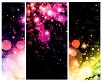 Φωτεινές ζωηρόχρωμες περιλήψεις απεικόνιση αποθεμάτων