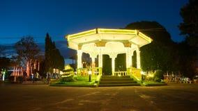 Φωτεινές νύχτες Φιλιππίνες Χριστουγέννων Στοκ εικόνα με δικαίωμα ελεύθερης χρήσης