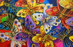 φωτεινές πεταλούδες Στοκ Εικόνες