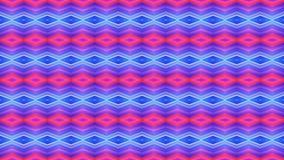 Φωτεινή άνευ ραφής γεωμετρική διακόσμηση του κόκκινου και μπλε diamonds_ στοκ εικόνα