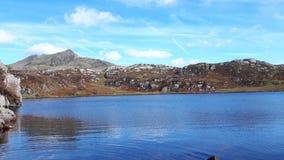 φωτεινή άποψη από το βουνό Στοκ φωτογραφία με δικαίωμα ελεύθερης χρήσης
