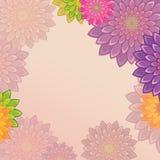 Φωτεινή ανασκόπηση λουλουδιών Στοκ εικόνα με δικαίωμα ελεύθερης χρήσης