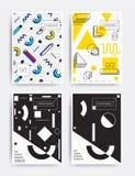 Φωτεινή διανυσματική αφίσα σχεδίου Στοκ Φωτογραφία