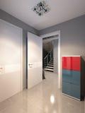 Φωτεινή και άνετη αίθουσα διανυσματική απεικόνιση