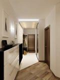 Φωτεινή και άνετη αίθουσα στοκ εικόνες με δικαίωμα ελεύθερης χρήσης