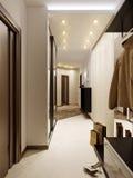 Φωτεινή και άνετη αίθουσα στοκ εικόνα με δικαίωμα ελεύθερης χρήσης