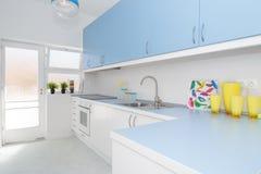 φωτεινή κουζίνα Στοκ Φωτογραφίες