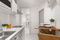φωτεινή κουζίνα στοκ εικόνες